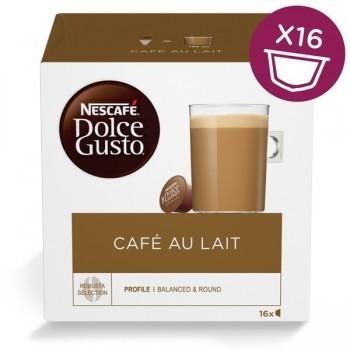Капсули кафе, NESCAFÉ® Dolce Gusto, CAFÉ AU LAIT, x 16