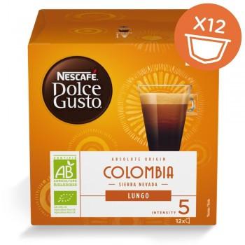 Капсули кафе, NESCAFÉ® Dolce Gusto® COLOMBIA SIERRA NEVADA LUNGO, x 12