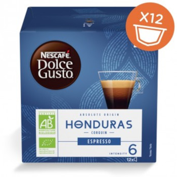 Капсули кафе, NESCAFÉ® Dolce Gusto® HONDURAS CORQUIN, x 12