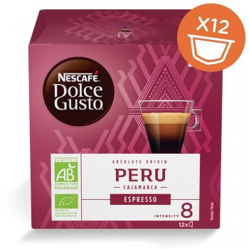 Капсули кафе, NESCAFÉ® Dolce Gusto® PERÚ CAJAMARCA, x 12