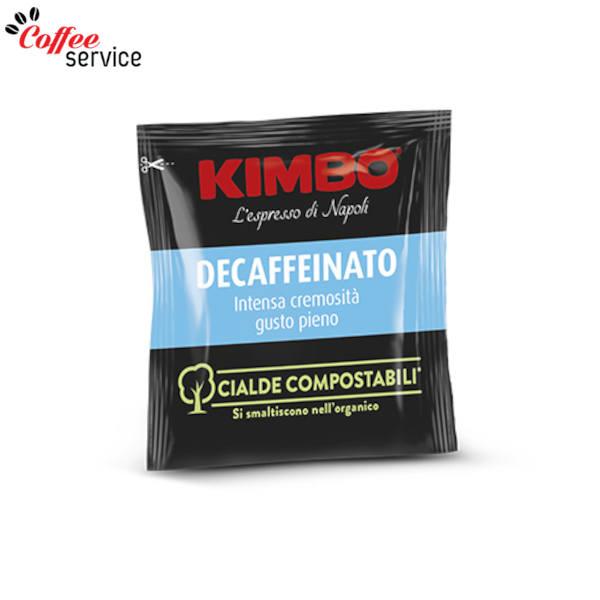 Дози кафе, Kimbo Decaffeinato - компостируеми ESE x 100