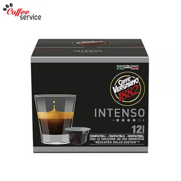 Caffé Vergnano Intenso - капсули, съвместими с Nescafé® Dolce Gusto®* x12
