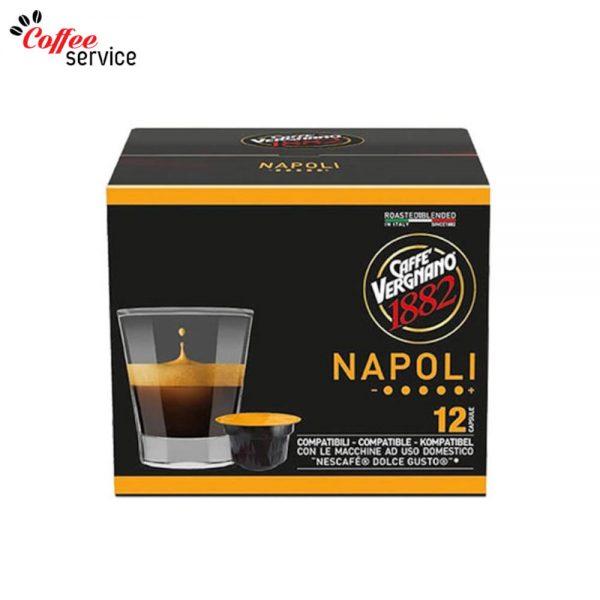 Caffé Vergnano Napoli - капсули, съвместими с Nescafé® Dolce Gusto®* x12