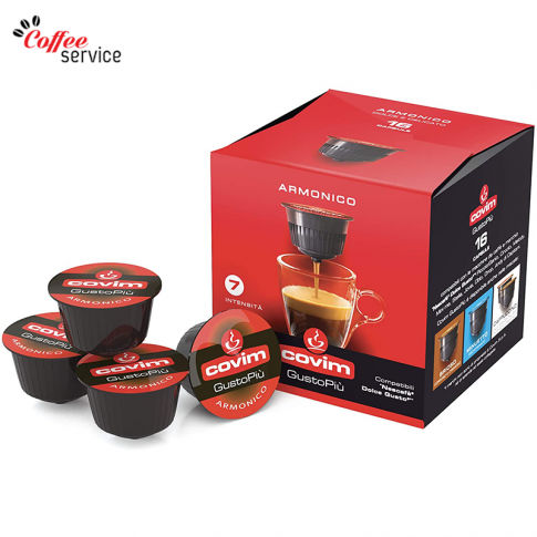 Covim Armonico - капсули, съвместими с Nescafé® Dolce Gusto®*