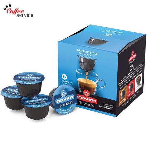 Covim Minuetto, без кофеин  - капсули, съвместими с Nescafé® Dolce Gusto®*