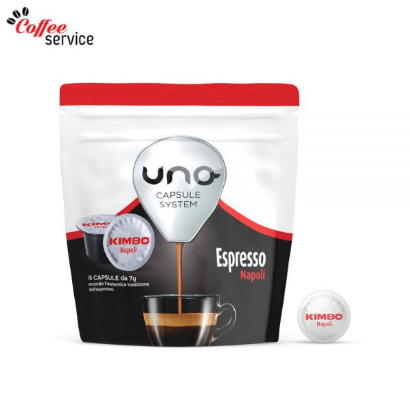 Kimbo Espresso Napoli - UNO капсули x16