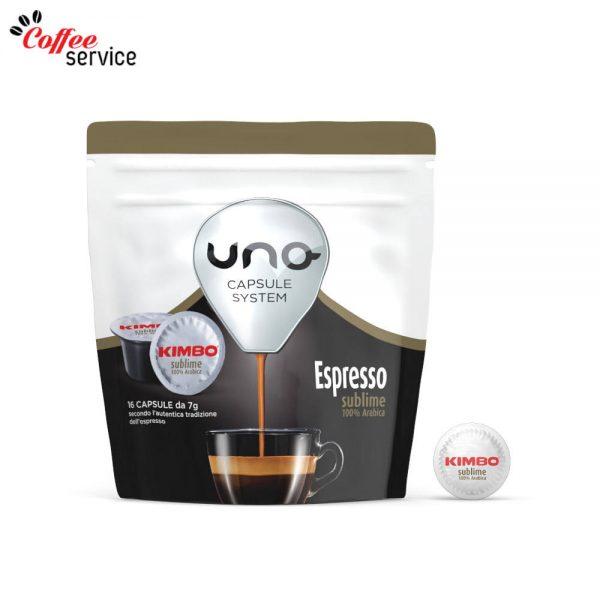 Kimbo Espresso Sublime 100% Арабика - UNO капсули x16