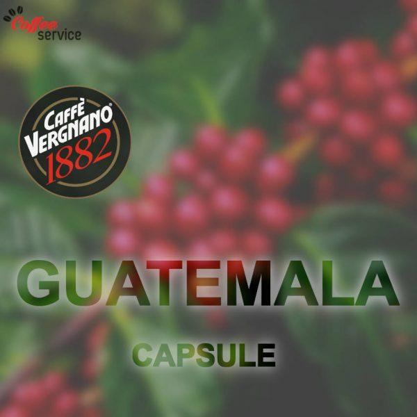 Vergnano 1882 Guatemala - капсули, съвместими с Lavazza® Espresso Point®* x100