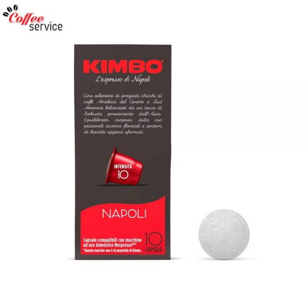 Kimbo Napoli - капсули, съвместими с Nespresso®* x10