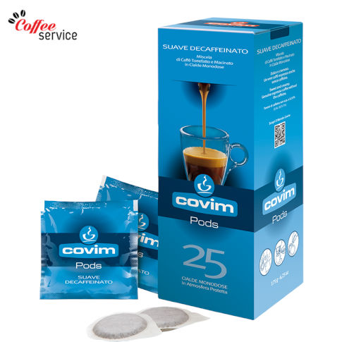 Кафе на дози, ESE Pod, Covim Suave Decaffeinato, x25