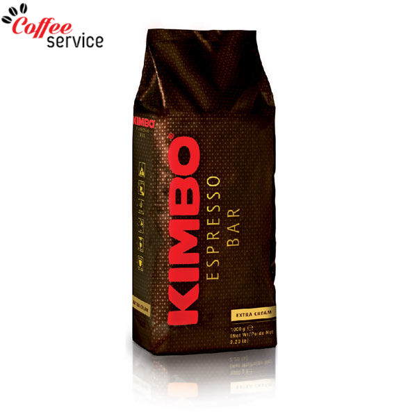 Кафе на зърна, KIMBO EXTRA CREAM 1кг.