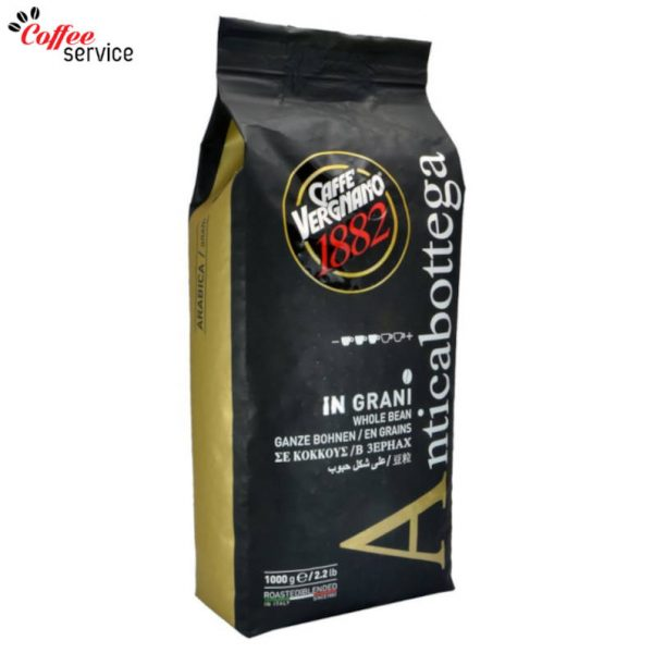 Caffé Vergnano Antica Bottega на зърна 1000g