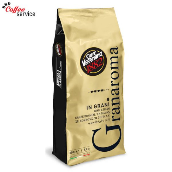 Caffé Vergnano Granaroma на зърна 1000g