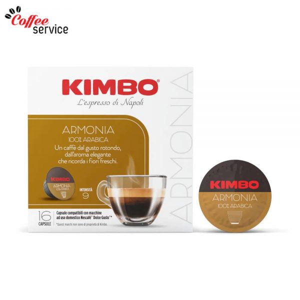 Kimbo Armonia 100% Арабика - капсули за Nescafé® Dolce Gusto® *