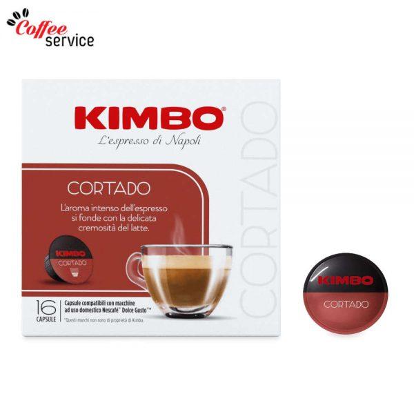 Kimbo Cortado - капсули, съвместими с Nescafé® Dolce Gusto®*