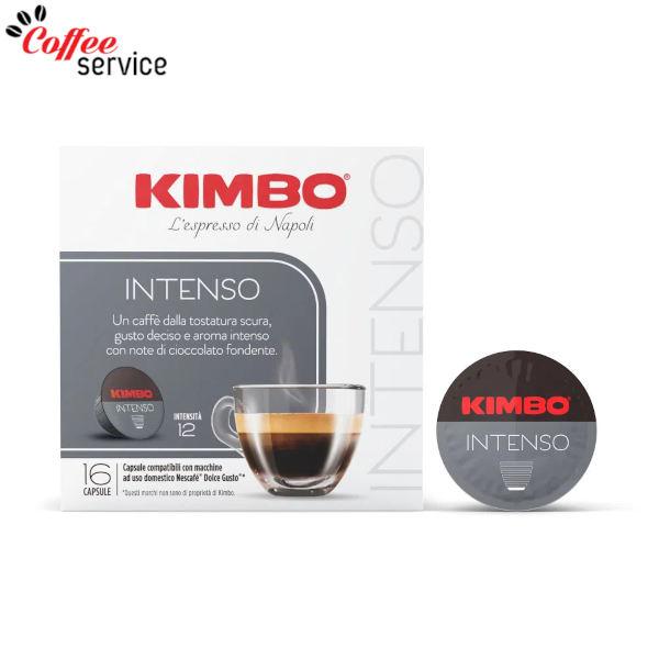 Kimbo Intenso - Съвместими капсули с Nescafé® Dolce Gusto®* x16