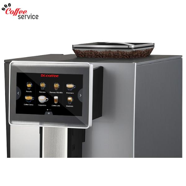 Кафемашина автоматична, Dr. coffee F10 Silver - 2