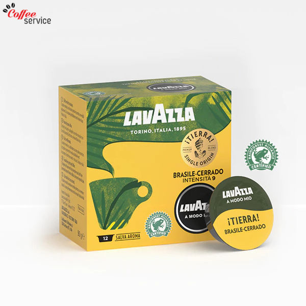 Кафе капсули, Lavazza A Modo Mio, ¡Tierra! Brasile - Cerrado x12