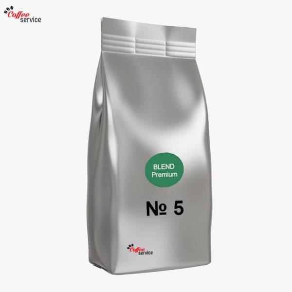 Кафе на зърна, Blend № 5 Arabica 30%, 1kg
