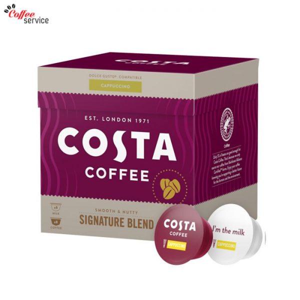 Кафе капсули, Costa Cappuccino DG, x16