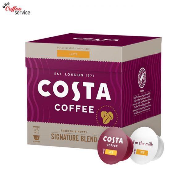 Кафе капсули, Costa Latte DG, x16