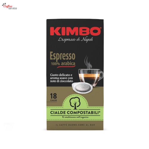 Kimbo Armonia 100% Arabica, компостируеми ESE дози, x18