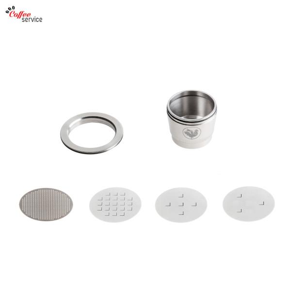 WAYCAP, капсули съвместими Nespresso за многократна употреба от неръждаема стомана, 1бр - 1