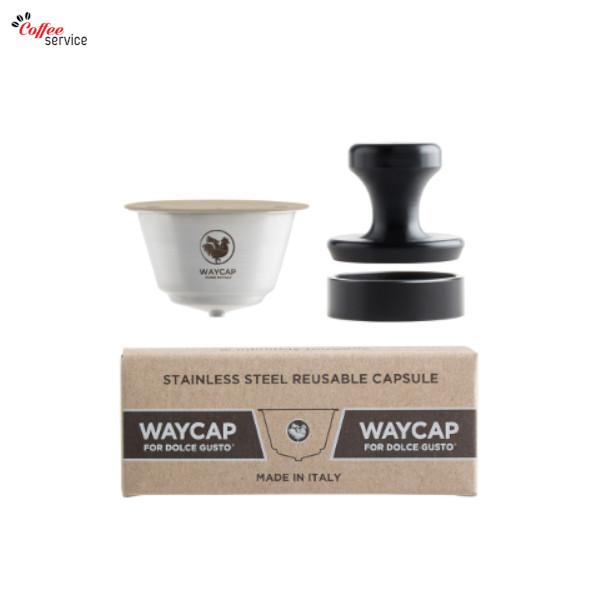 WAYCAP, капсули съвместими Dolce Gusto за многократна употреба от неръждаема стомана, 1бр