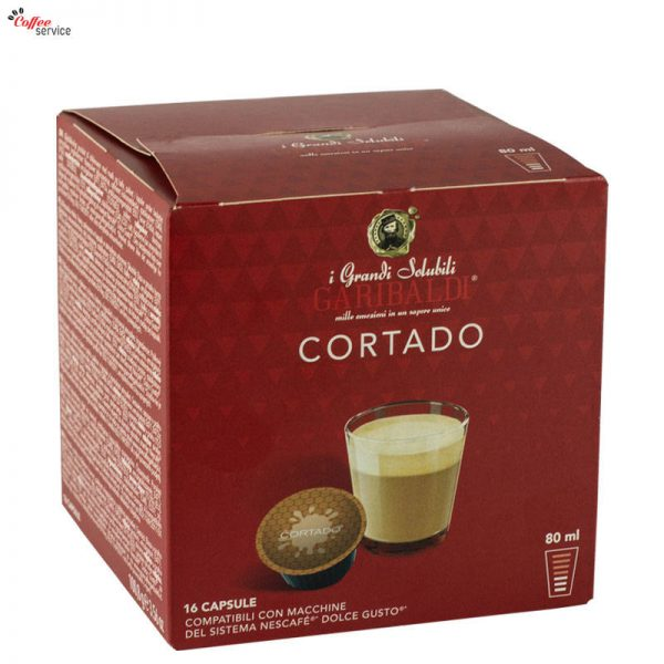 Garibaldi Cortado, Dolce Gusto съвместими капсули x16